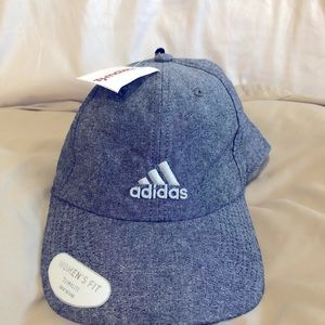 Adidas women's fit gray hat